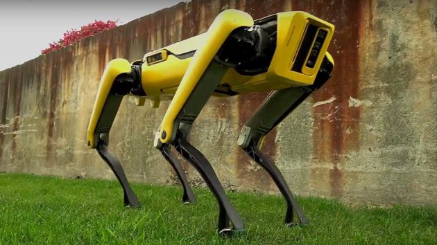 Boston Dynamics Updated SpotMini Robotic Dog Teased