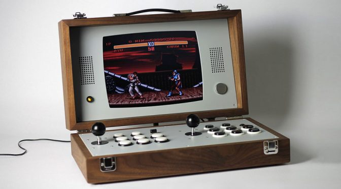 Cary42 Portable Arcade Gaming Device by Love Hulten