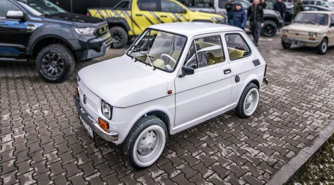 Tom Hanks Is Getting A Custom Restored Fiat 126p Because, Tom Hanks