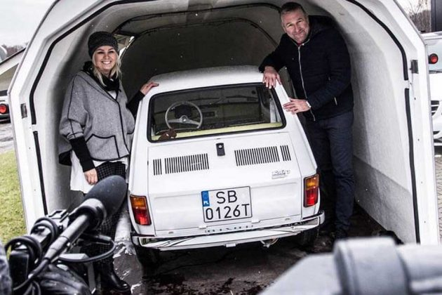 Custom Restored Polish Fiat 126p for Tom Hanks
