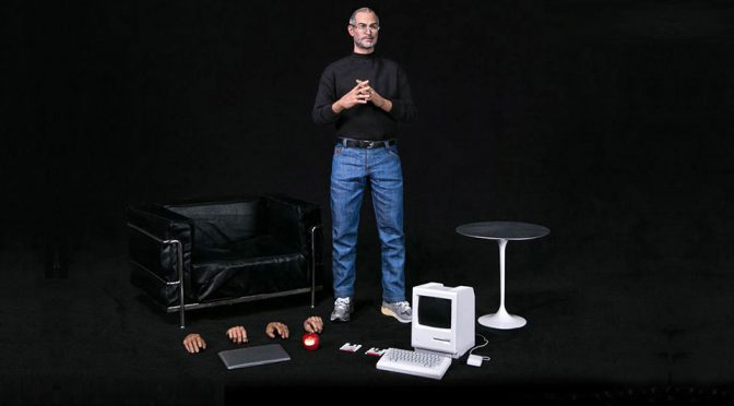 DAMTOYS 1/6 Scale Figure: 2017 Sidney Maurer Homage Artwork of Steve Jobs