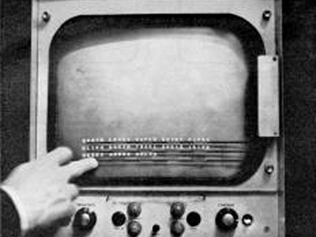 E.A. Johnson's touchscreen