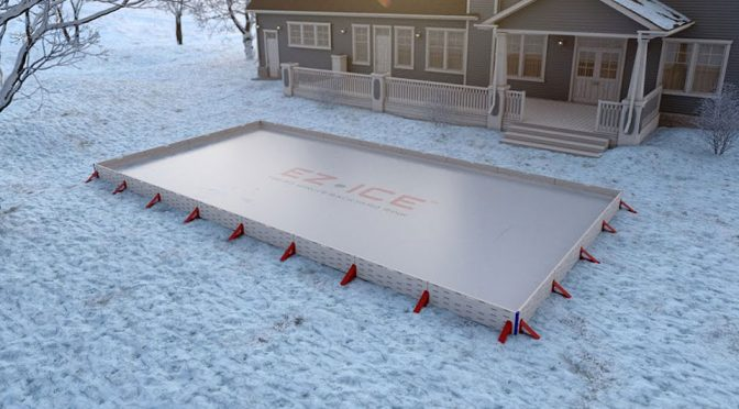 EZ ICE 60 Minute Backyard Ice Hockey Rink