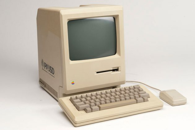 First Apple Macintosh Computer, 1984
