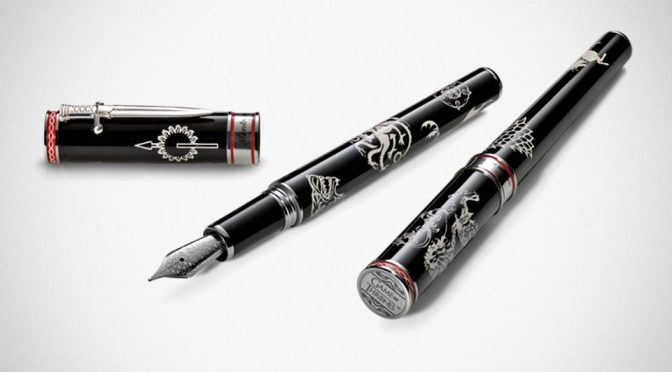 Montegrappa <em>Game of Thrones</em> WESTEROS Fountain Pen: All-In-One Houses Writing Instrument