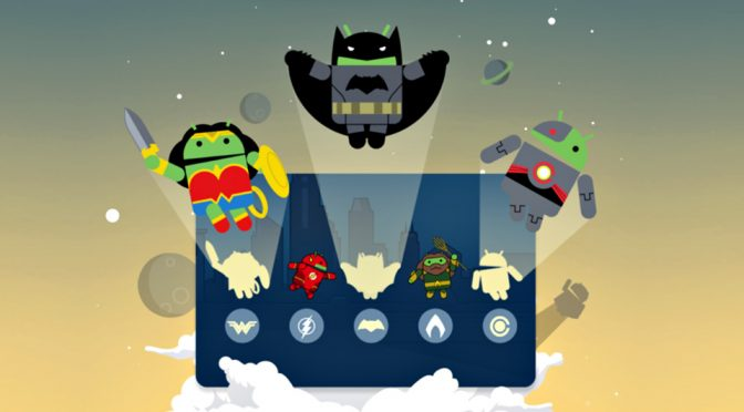 Get Justice League Characters When Using Android Pay