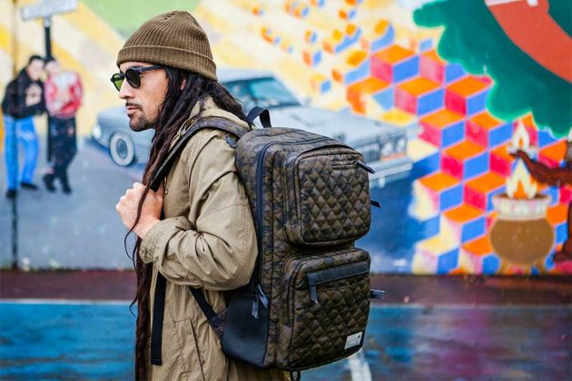 HEX Regimental Rugged Quilted Camo Bag Collection