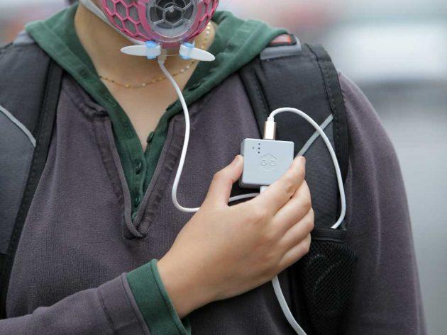 Hexa Clean Air Supply Mask by KOOLMASK