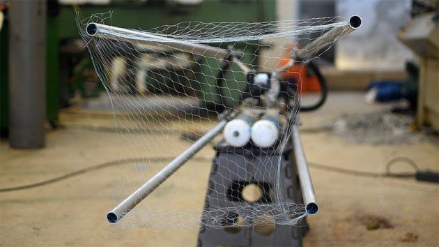 Homemade Drone Catcher by Made it Extreme