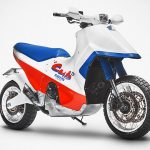 Honda's Iconic Cub EZ 90 Got Upsized In This Modern Homage Example