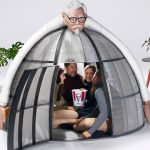 KFC Has A Dome Tent That Disconnect You From The World When Inside