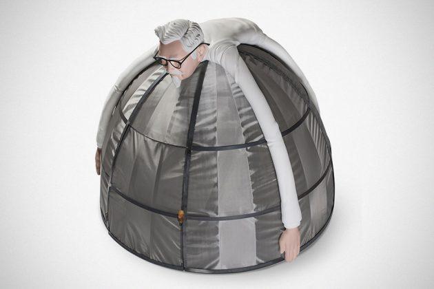 KFC Internet Escape Pod Camping Tent