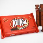 Kill Kat Vinyl Figure Is Probably The Most Evil Kit Kat Of All