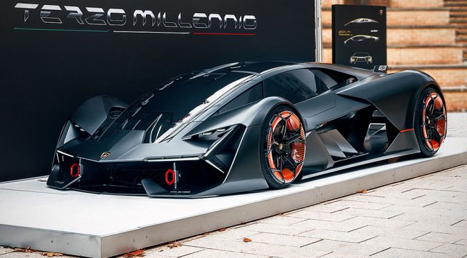 Lamborghini S Newest Concept Is Loaded With The Wildest Future Tech