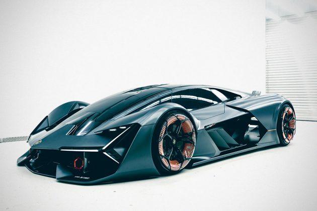 Lamborghini Terzo Millennio Concept Electric Supercar