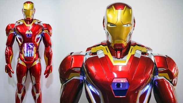 Life-size Iron Man Mk 45 PC Case Mode by WMP