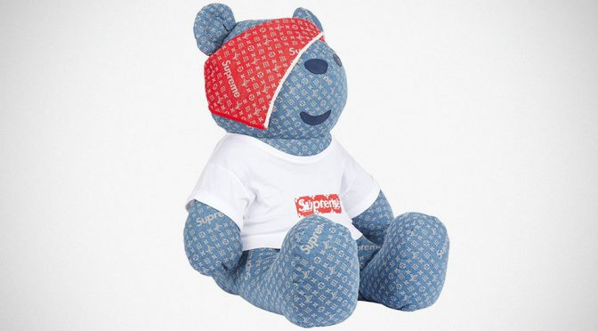The One And Only LV x Supreme Pudsey Bear Is Now Going Under The Hammer