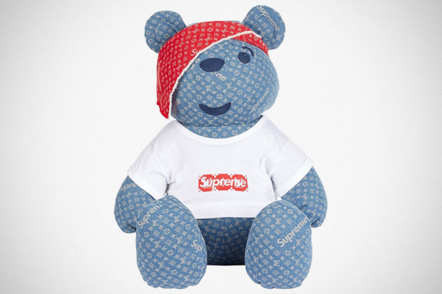 Louis Vuitton x Supreme Designer Pudsey Bear