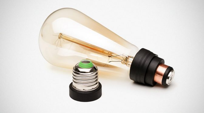 Magbulb World's First Magnetic Light Bulb Socket