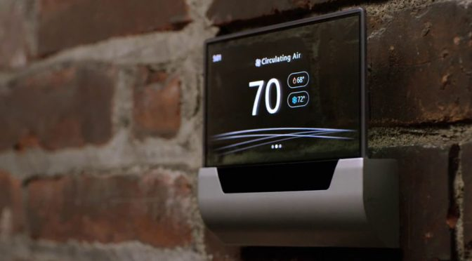 Microsoft GLAS Smart Thermostat by Johnson Controls