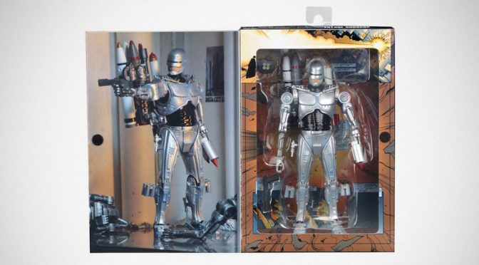 NECA <em>Robocop</em> Vs <em>Terminator</em> Ultimate Future <em>Robocop</em> In Packaging Unveiled