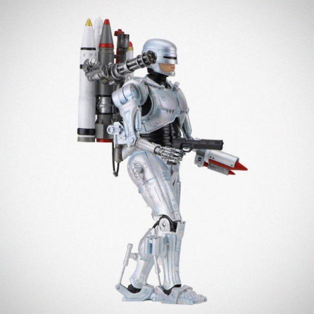 NECA Robocop Vs Terminator Ultimate Future Robocop Action Figure