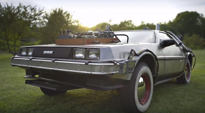 Original DeLorean From Back to the Future III