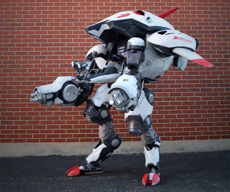 Overwatch D.Va MEKA Mech Suit Cosplay by Gryphon's Gears