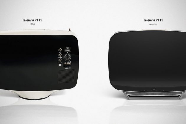 RE:MAKE WE:MAKE Teleavia P111 Retro TV by PDF Haus