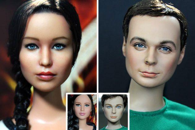 Repainted Dolls and Action Figures by Noel Cruz