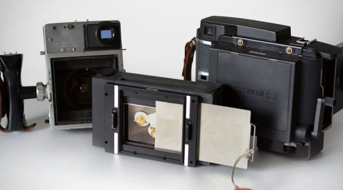 This Attachment Will Turn Vintage Film Cameras Into Instant Cameras