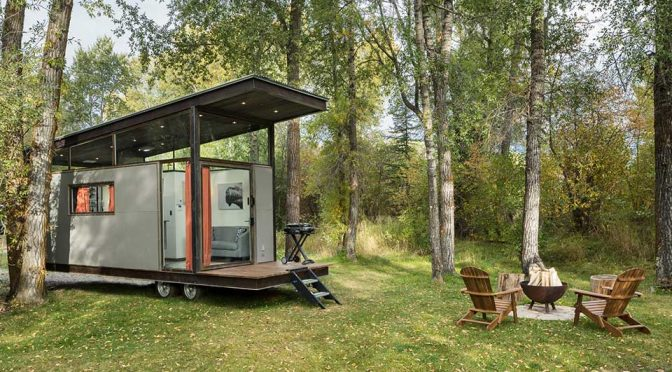 Roadhaus Wedge RV Tiny House by WheelHaus
