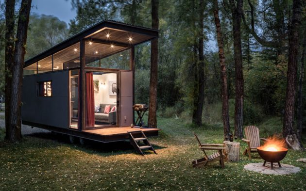 Roadhaus Wedge RV Tiny House by WheelHaus