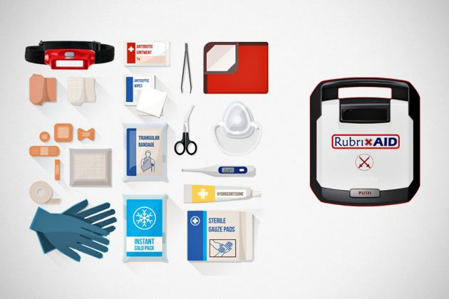 RubrixAID Automated First Aid Kits