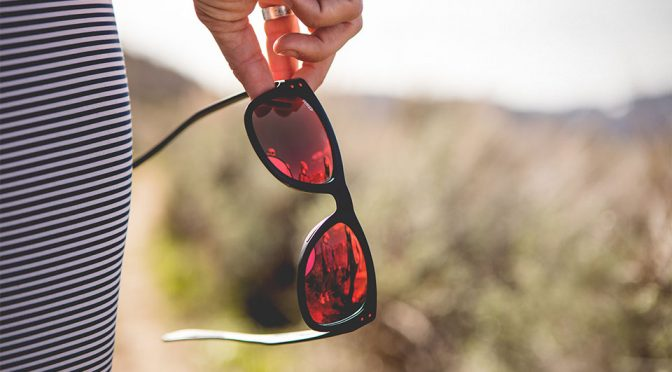 Olympic Skier Created Sunglasses That You <em>Want</em> To Check It Out
