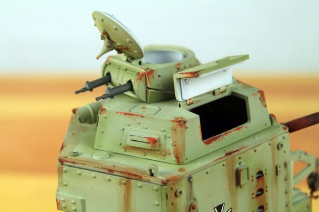 Schnauzer Armored Walker Walking Tank Scale Model
