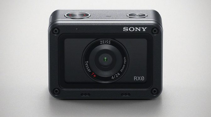 Sony Brings The Imaging Prowess of RX Series To Action Camera