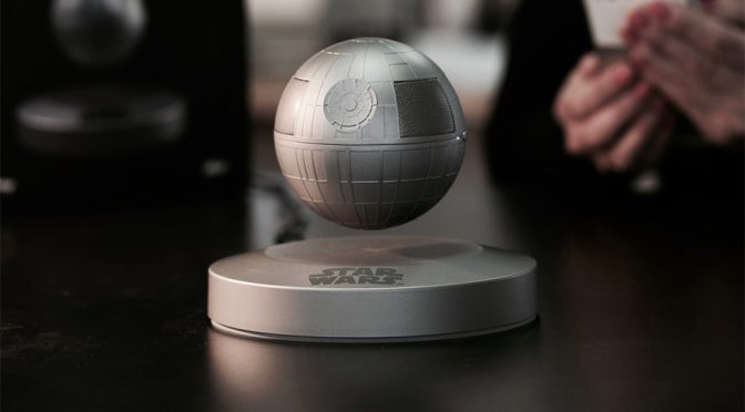 Levitating Death Star Speaker Floats Like The 'Actual' Thing