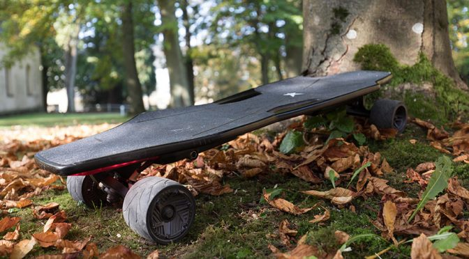 With Stark Mobility's Electric Skateboard, You Are The Remote