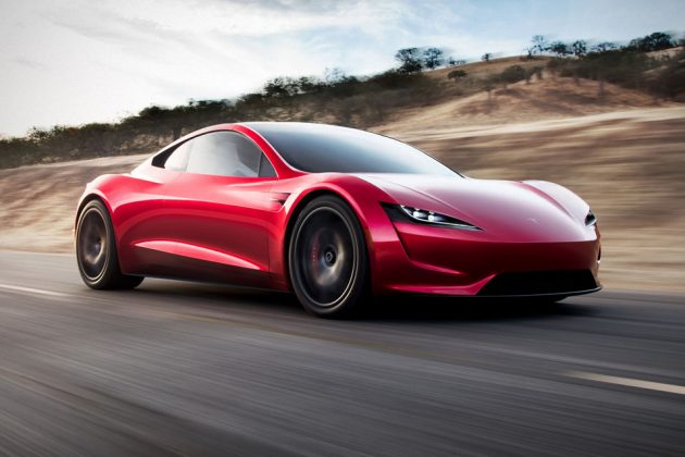 Tesla Second-generation Roadster Electric Vehicle