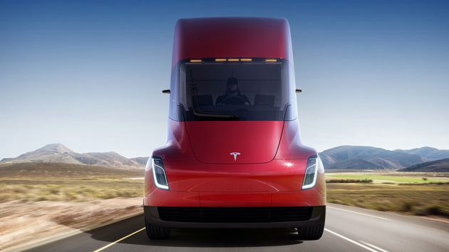 Tesla Semi Electric Cargo Truck