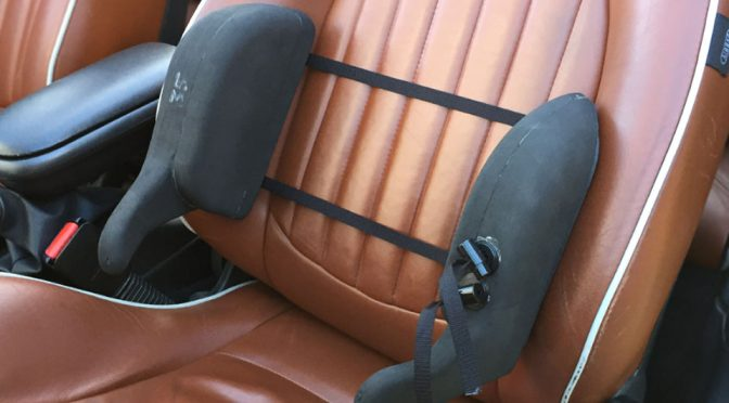 The Bolster Boost Lateral Support Pad For Car Seats