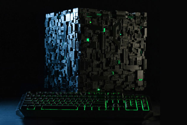 The Borg Cube PC by Cherry Tree, Inc.