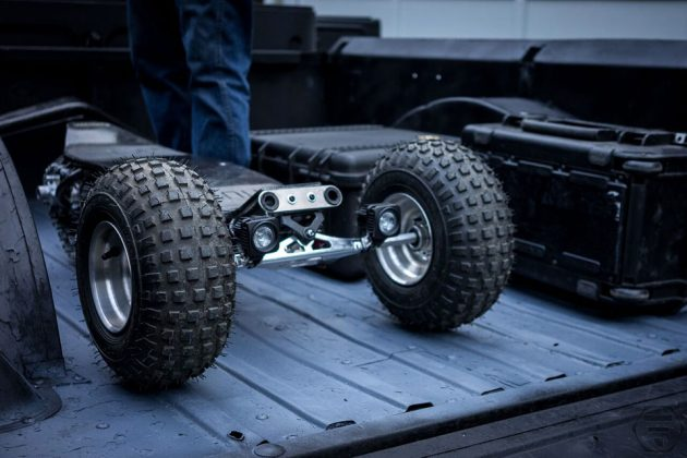 Track1 Off-road Half-track Skateboard by Flux Design Co