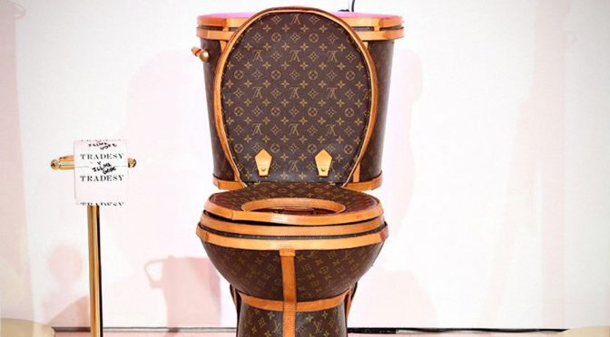 Oh, Look. There's A Louis Vuitton Toilet You Can Actually Buy!