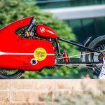 Behold, The World's Best Looking And Fastest Pizza Delivery Motorcycle!