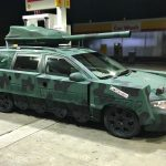 "The Volvo V70 Turned ""Tank"" That Has Us Enthralled Is Now On The Block"