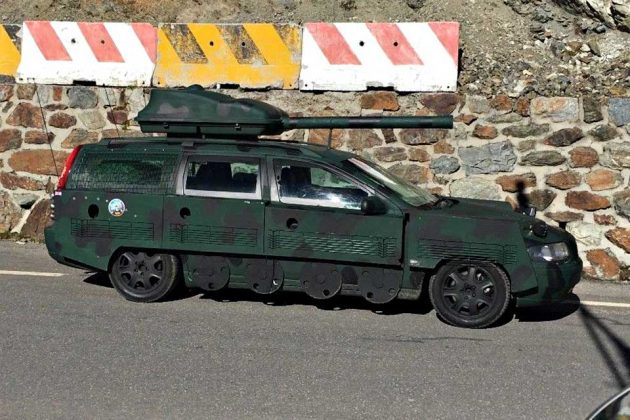 Volvo V70 Street-going Tank Goes Under The Hammer