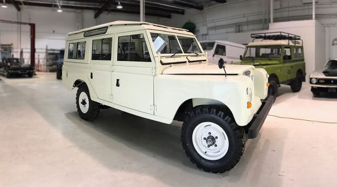 Barn Find 1974 Land Rover 109 Beautifully Restored By Lucra Cars