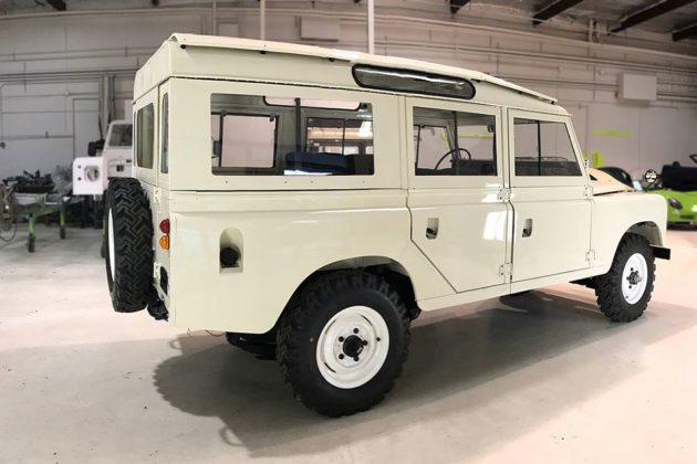 1974 Land Rover 109 Santana Especial from Lucra Cars
